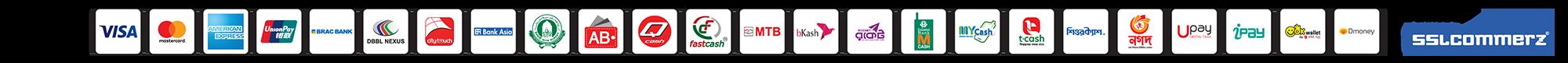 sslcommerz pay via visa bkash master card nagad rocket