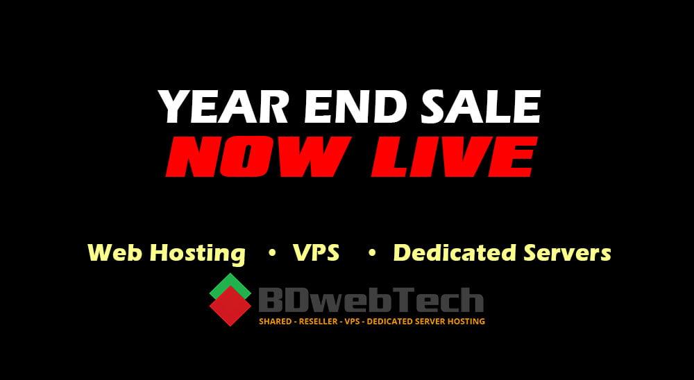 Year end mega sale 2020 bdwebtech